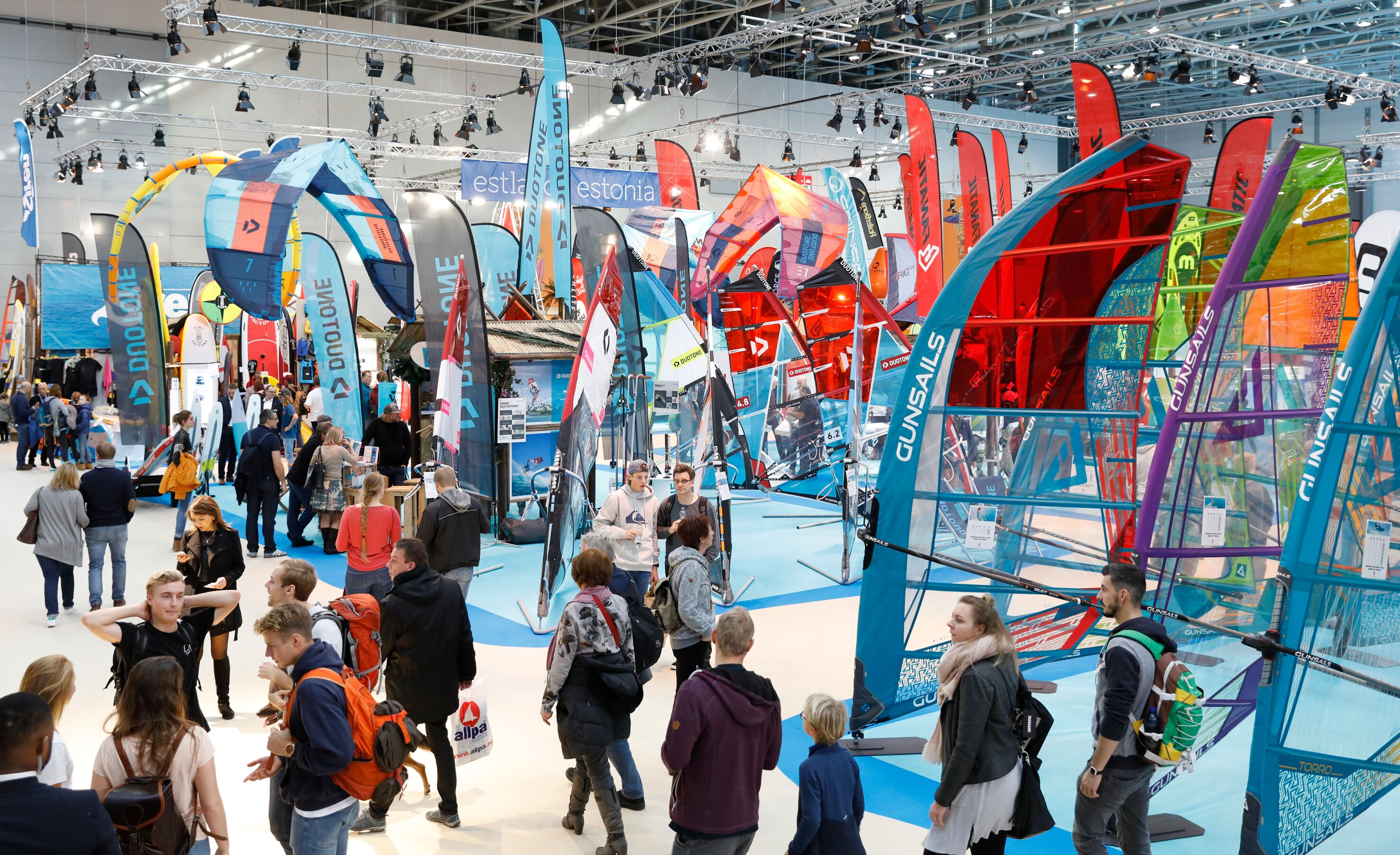 The high-trend windsurfing of the dusseldorf boot 2020 | RIWmag