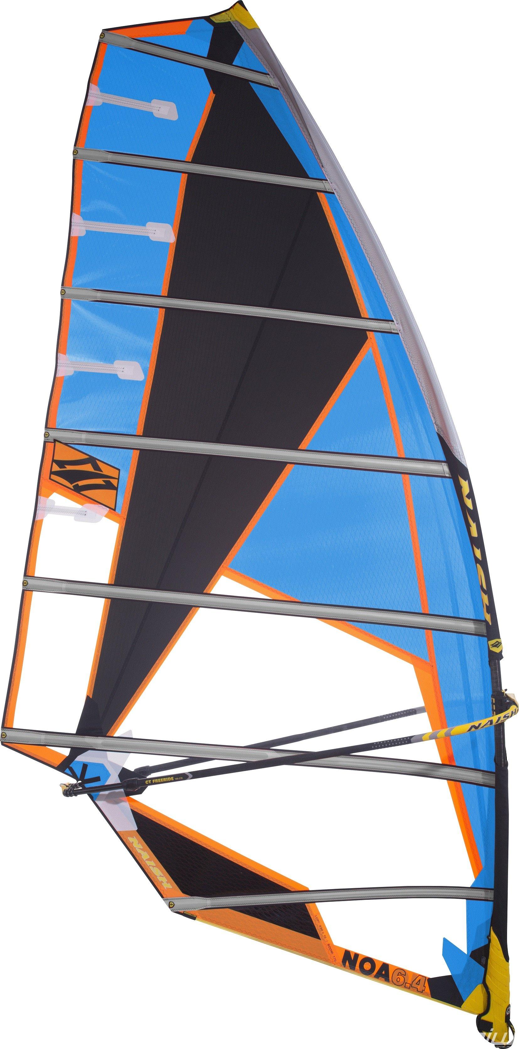 Naish Sails: Noa, sailing slalom without camber | RIWmag