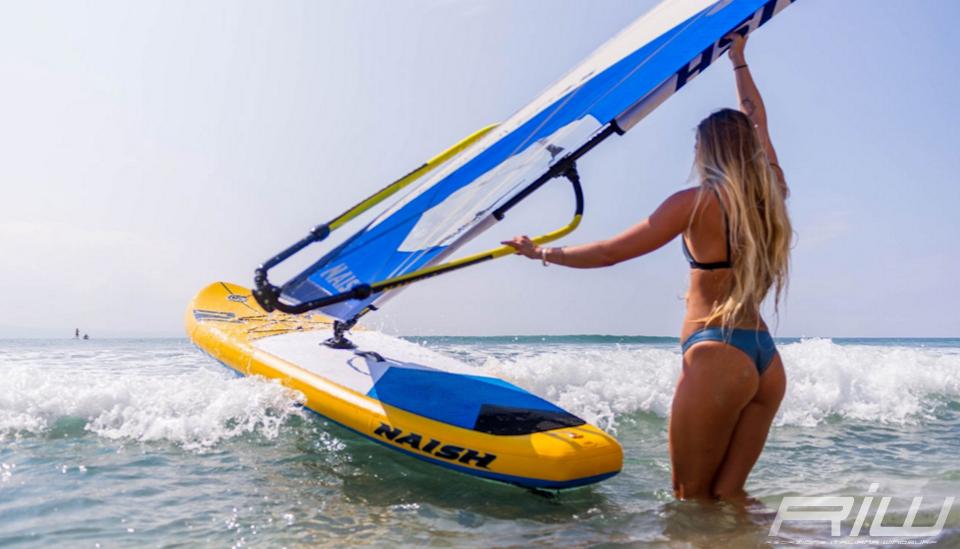Naish crossover keiki la tavola da windsurf e sup gonfiabile riwmag - Sacca per tavola sup ...