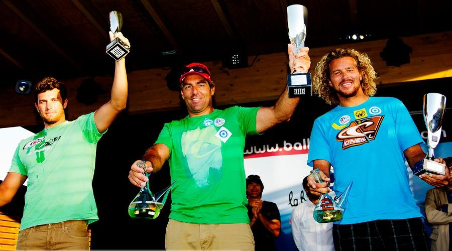 PWA CATALUNYA WORLD CUP: Matteo Iachino sul podio