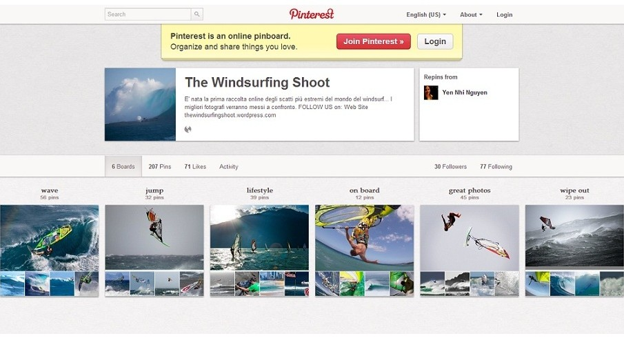 The Windsurfing Shoot: le foto piu' impressionanti