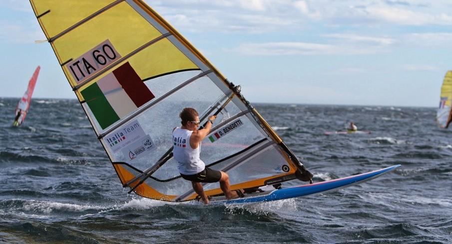 Mondiali RS:X: Benedetti qualifica l'Italia per Rio