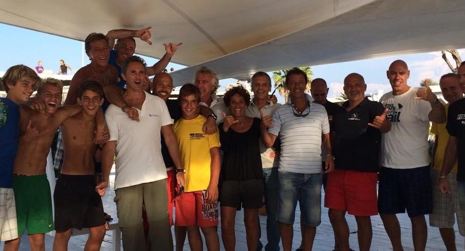 Festa del windsurf(er) allo Shilling di Ostia