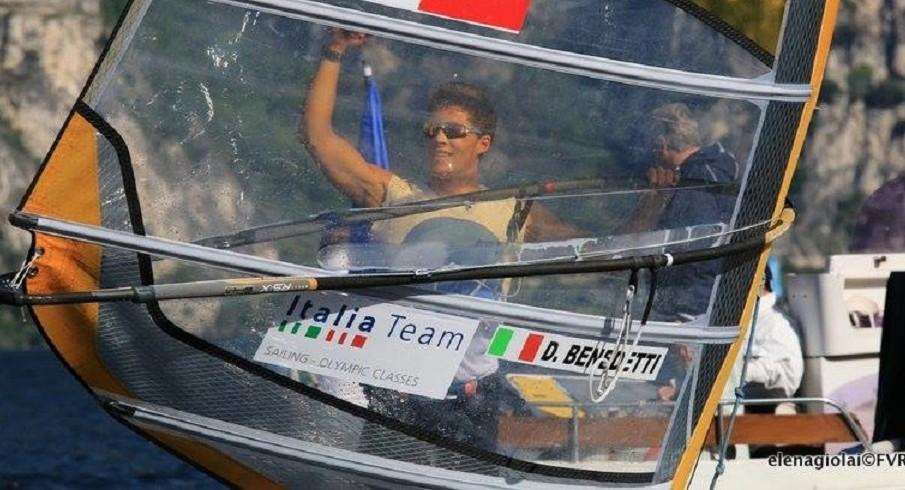 Garda Trentino Olympic Week: vince Benedetti