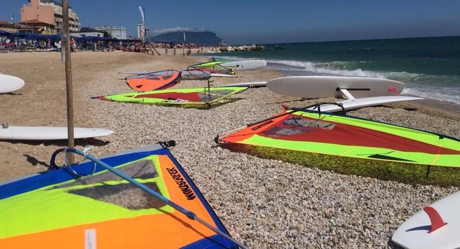 Porto Recanati, Nazionale Windsurfer: il report