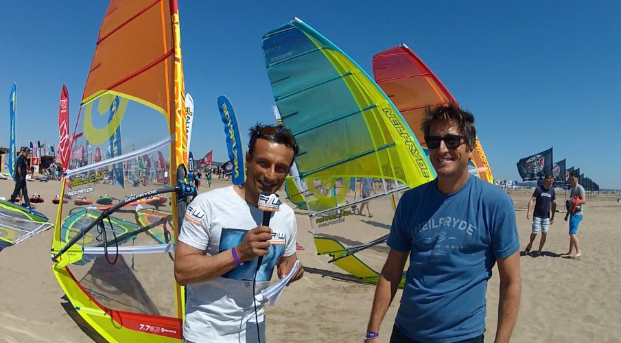 ITW DEFI WIND: Marco Leconte (manager NeilPryde)