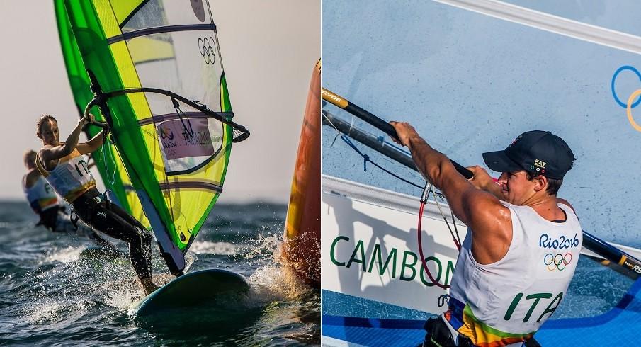 Rio2016, RS:X, Medal Race: Tartaglini 6ta, Camboni 10mo