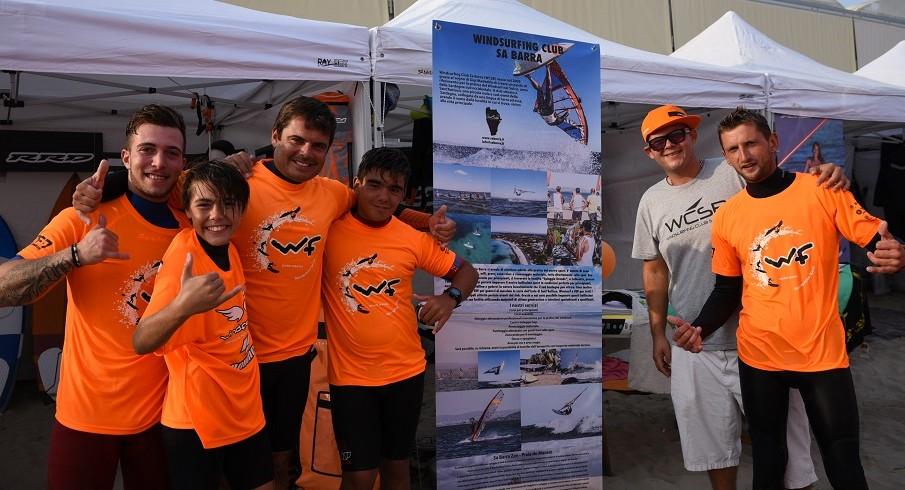 WF2017: Gigi Madeddu e il Windsurfing Club SaBarra