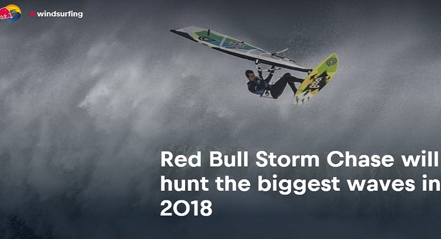 La #RedBullStormChase ritorna dal 5 gennaio 2018