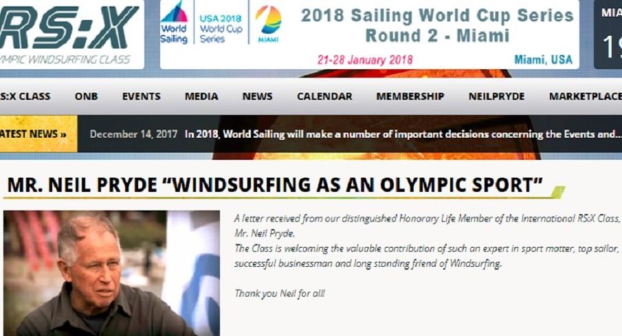 Windsurf a Parigi2024: Mr. Neil Pryde risponde