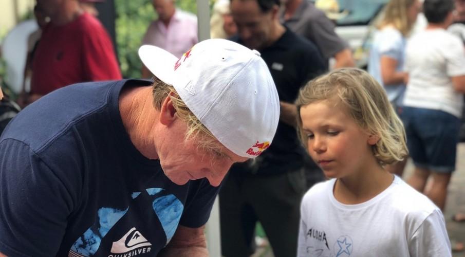 Robby Naish e il suo viaggio a Torbole: l'intervista