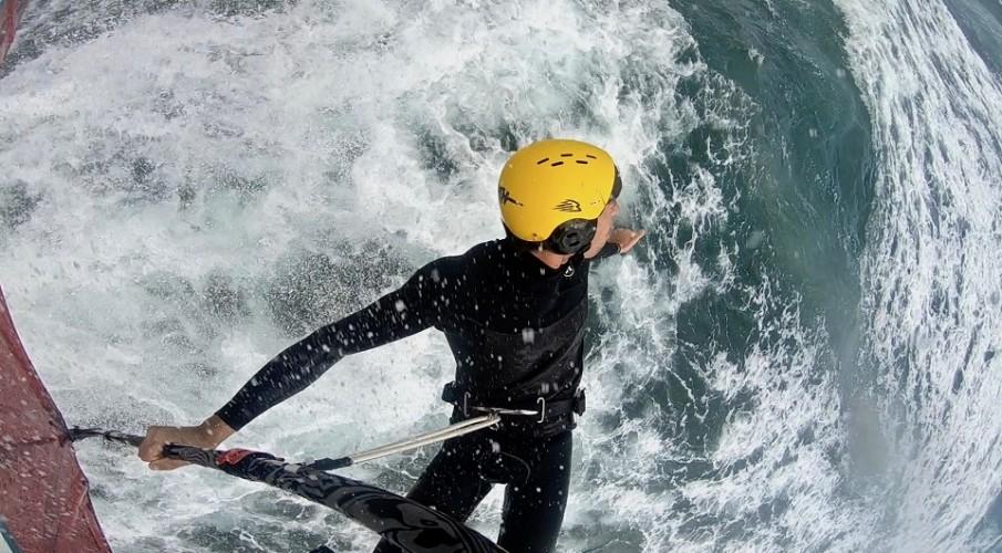 Federico Infantino con Gath Sports Helmet