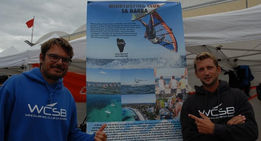 WF2018: Gigi, Rossel e il Windsurfing Club SaBarra