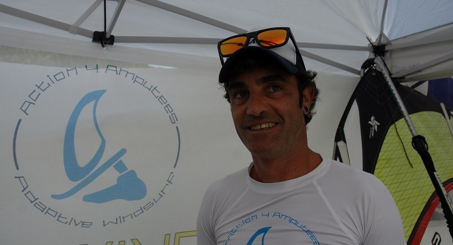 WF2018: FRANCESCO FAVETTINI E ADAPTIVE WINDSURF
