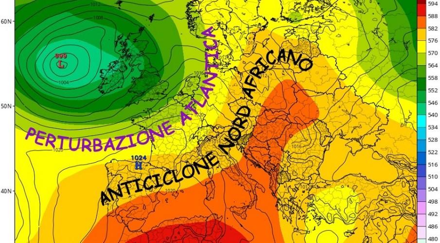 METEOEVENTI: ANTICICLONE AFRICANO