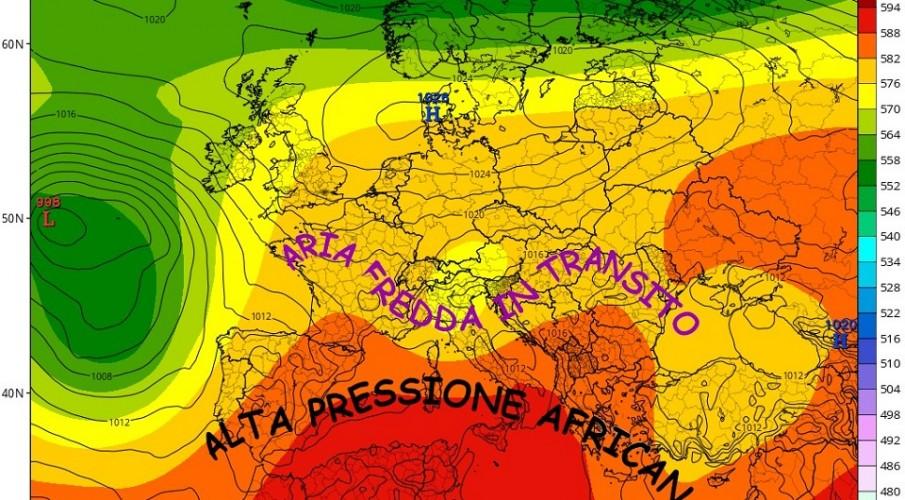 METEOEVENTI: ALTA PRESSIONE ED ESTATE