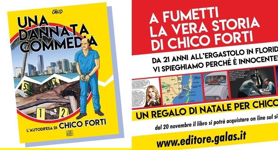 """""""Una Dannata Commedia"""": il libro di Chiod su Chico Forti"""